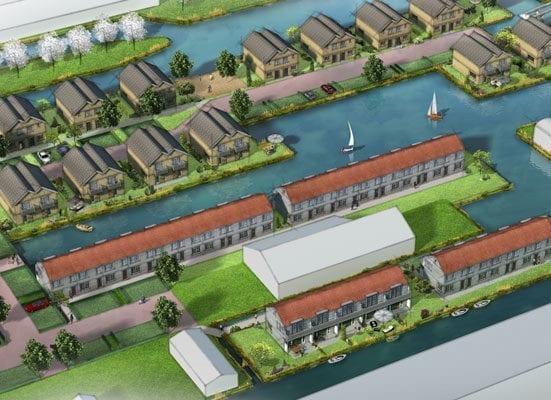"""Marinapark Aalsmeer is de transformatie van jachthaven """"De Aardbei"""""""